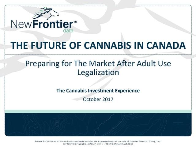 future of cannabis in Canada 2017