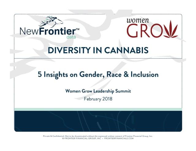 diversity in cannabis