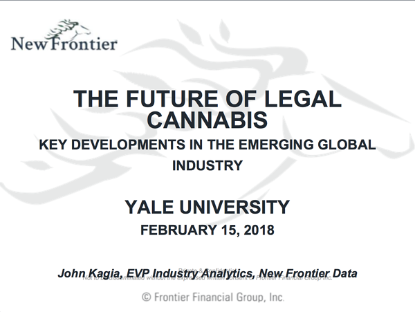 New Frontier - Yale Business of Cannabis Conference - 02152018 - FINAL