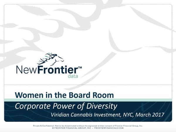 Women in the Board Room March 2017